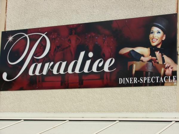 Sortie au Cabaret Paradice en mars 2017