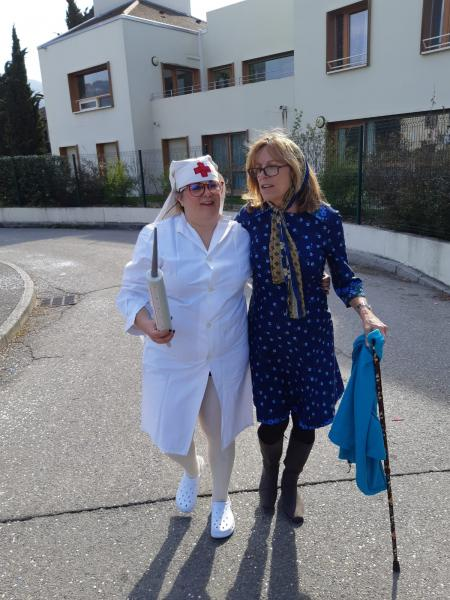 Barbara et Ghislaine