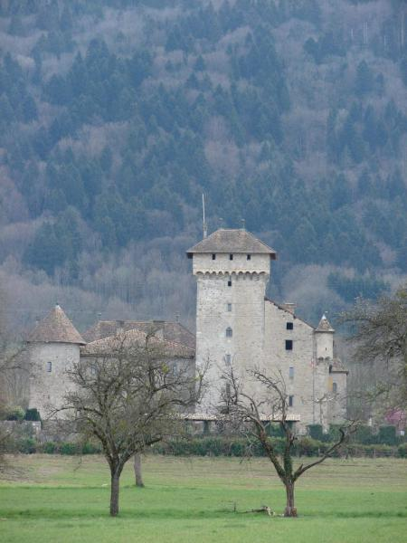 Le chateau d'Avully