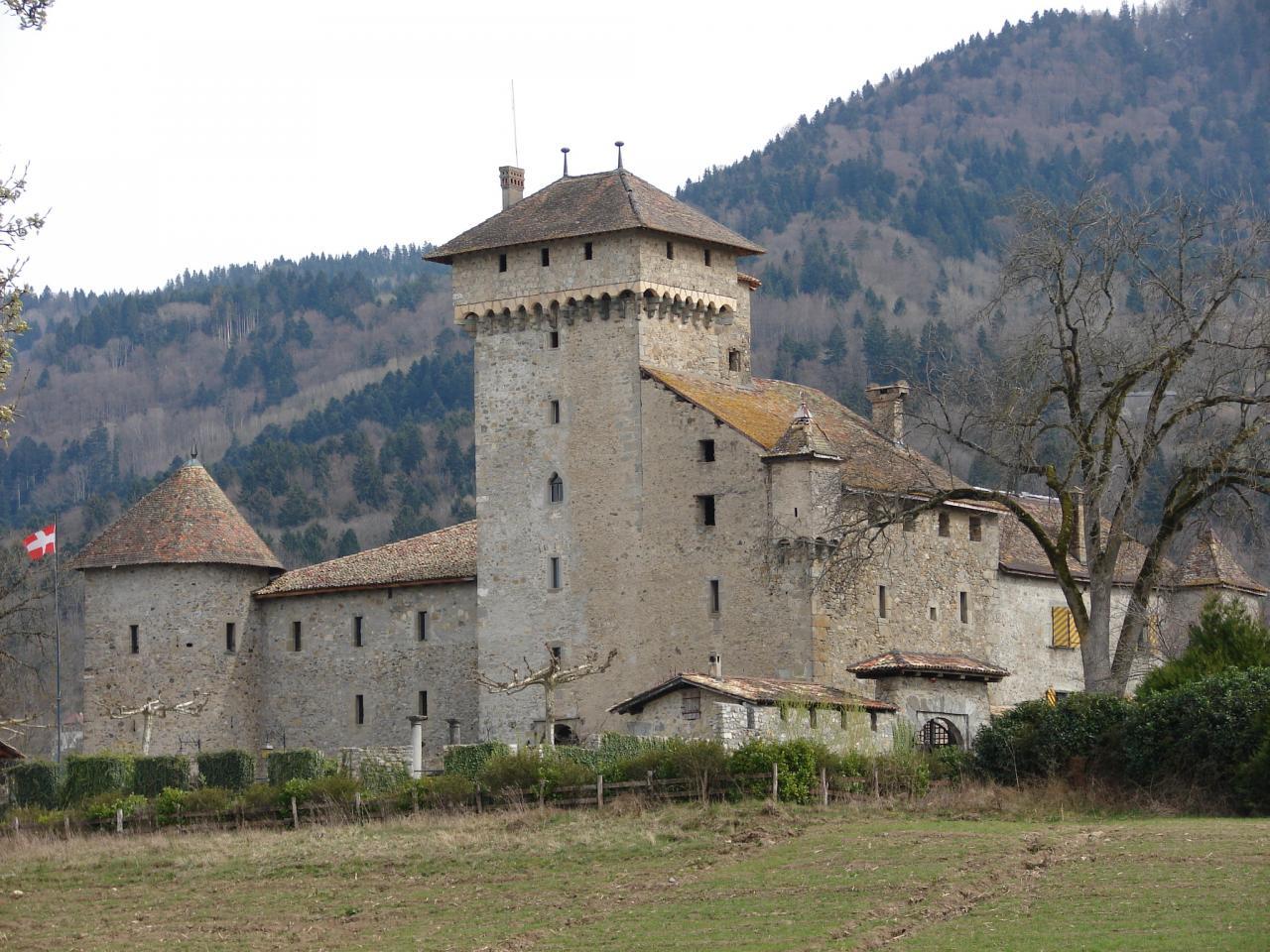 Le chateau d'Avully