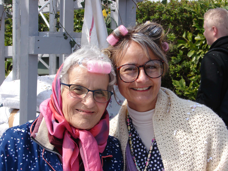 Marlène et sa maman
