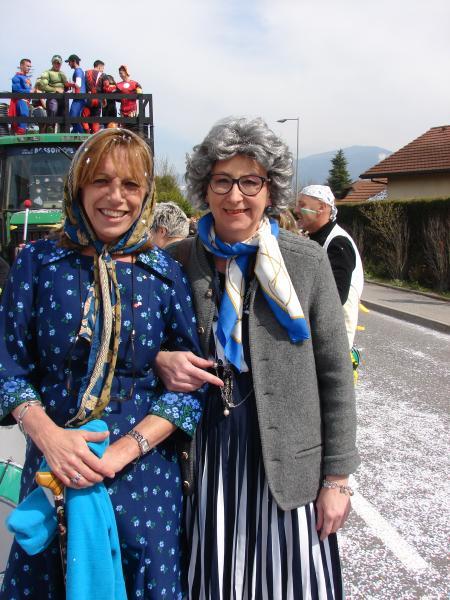 Nos petite vieilles en sortie au carnaval