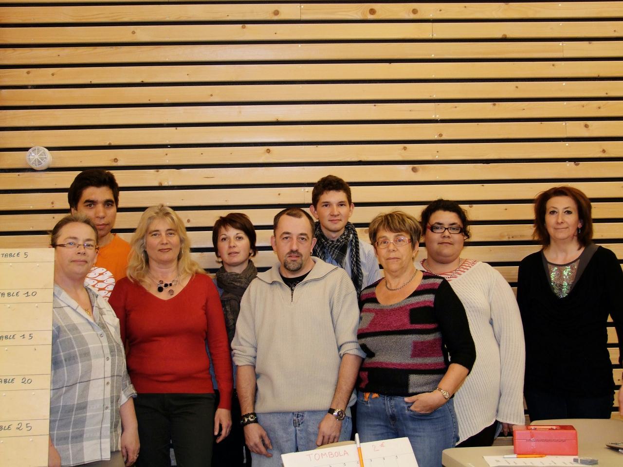 Une partie des membres 2014