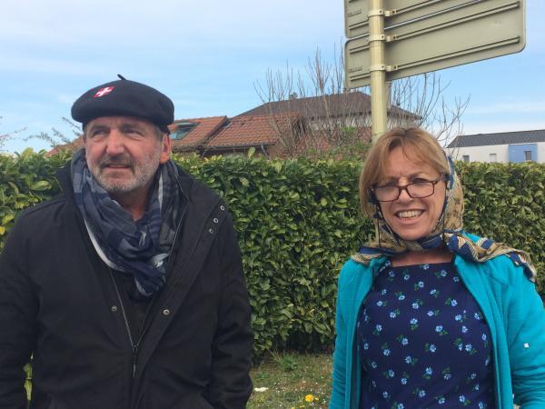 Ghislaine et Michel.. En route pour le carnaval