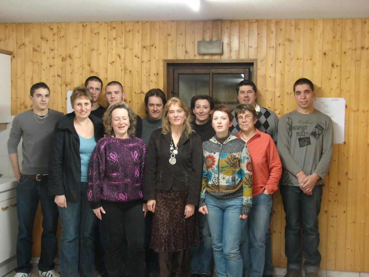 Les membres 2010