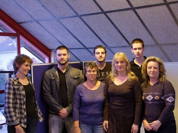 Une partie des membres 2012
