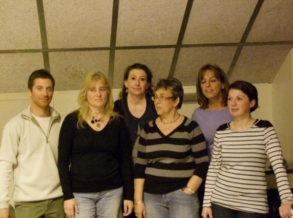 Une partie des membres 2013