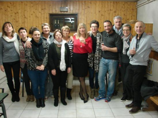 Une partie des membres 2017