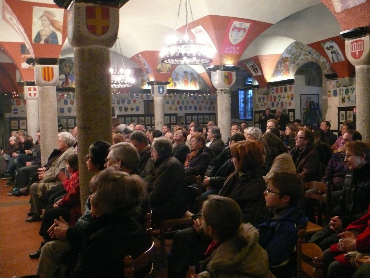 Concert au chateau d'Avully