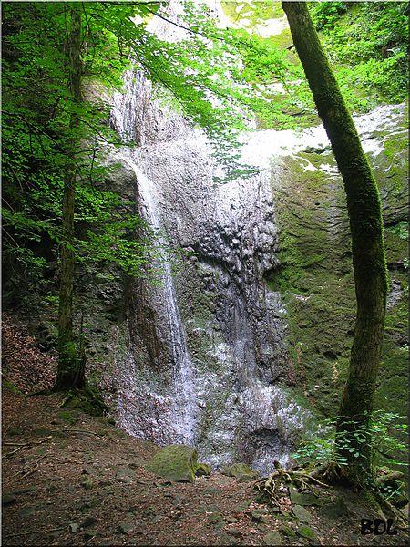 Sa célèbre cascade