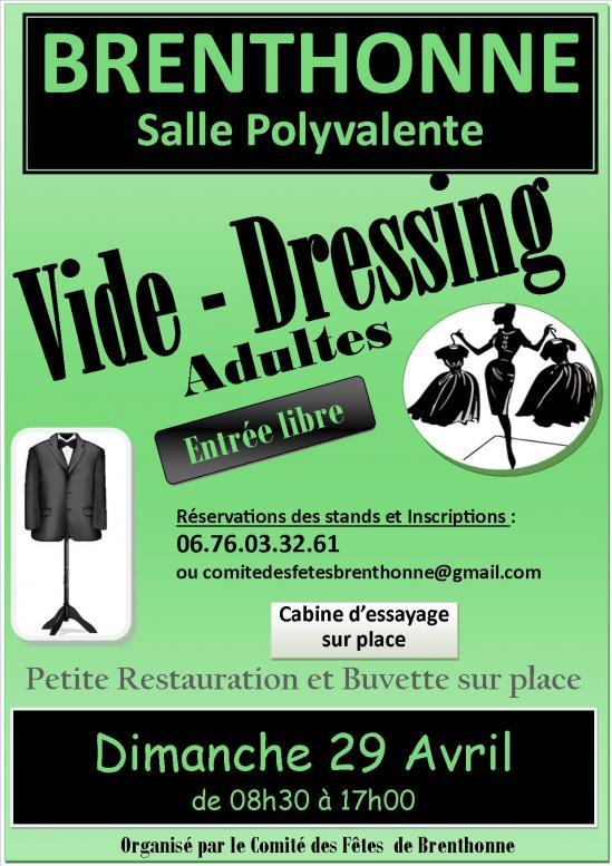 Affiche vide dressing fb 1