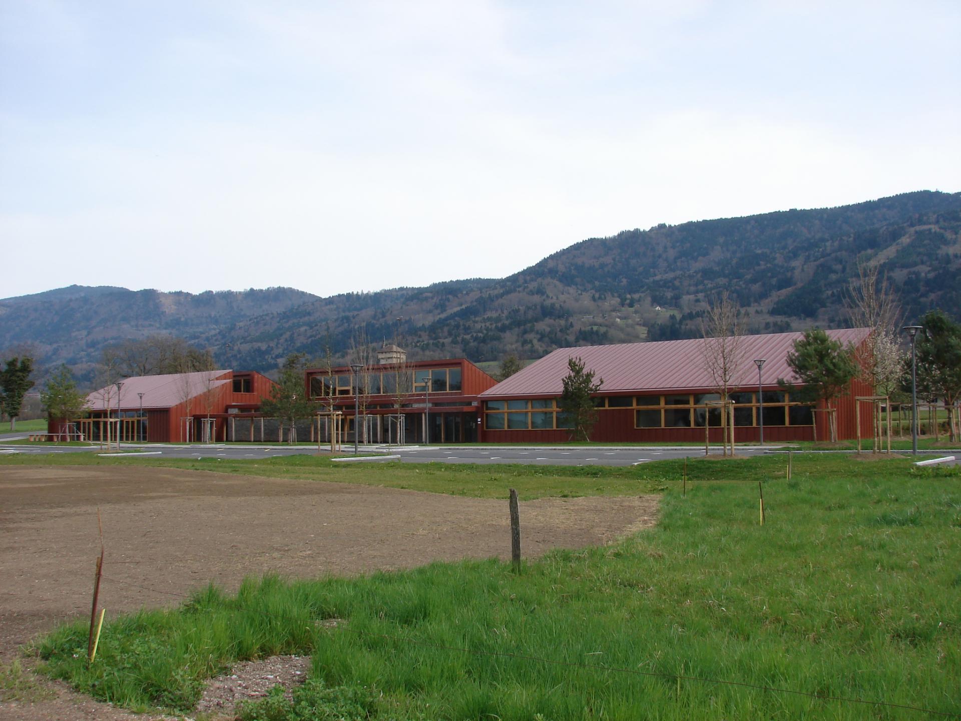 Sa nouvelle école