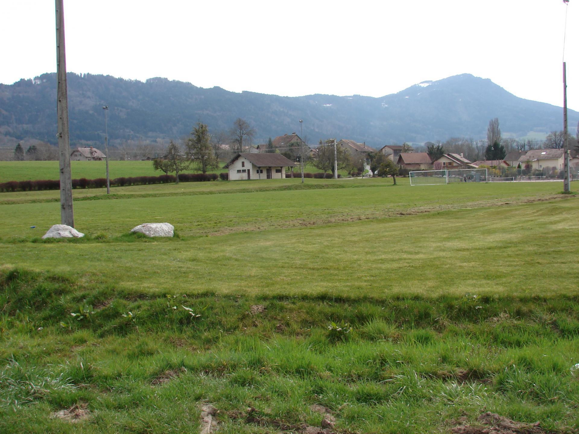 Son terrain de foot